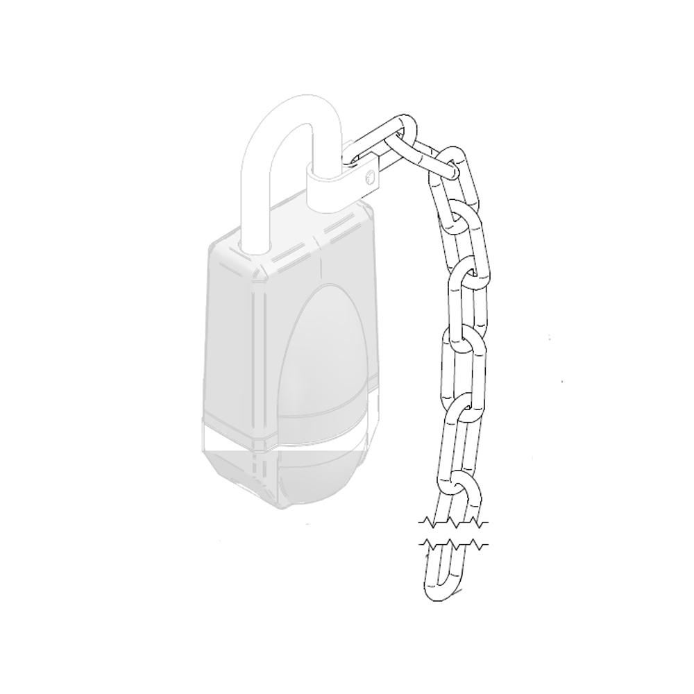 SALTO - Kette für Neoxx Vorhängeschloss (30 cm) - SP226335