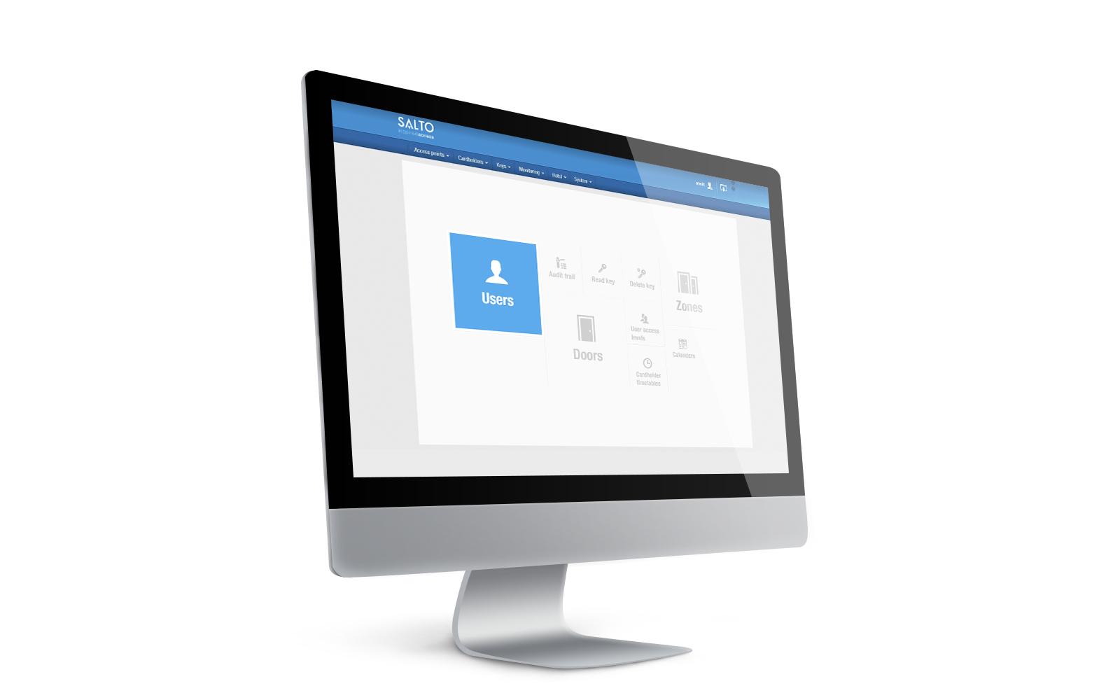 SALTO - ProAccess SPACE Software - Funktion: Standort/Funktionsmatrix - SPACE-OPT-0015