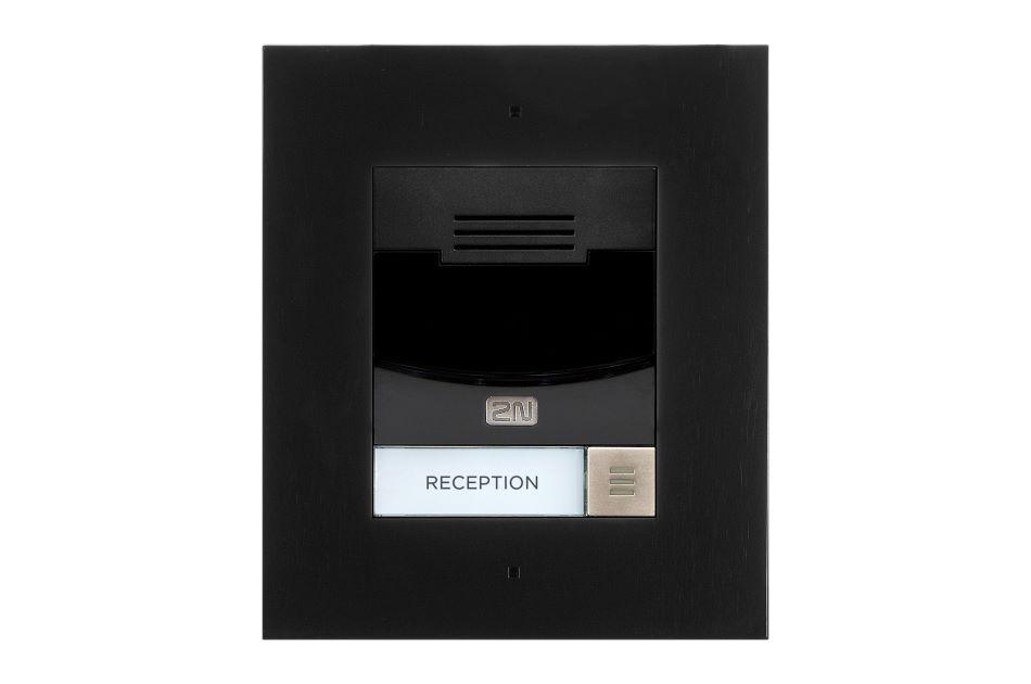 2N - 2N IP Solo Flush NoCam Black | Digital Key World
