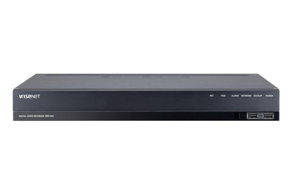 Hanwha Techwin - HRD-442 1TB   Digital Key World