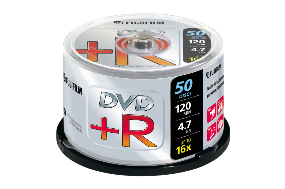 Fuji - DVD+R 4,7GB-50 | Digital Key World