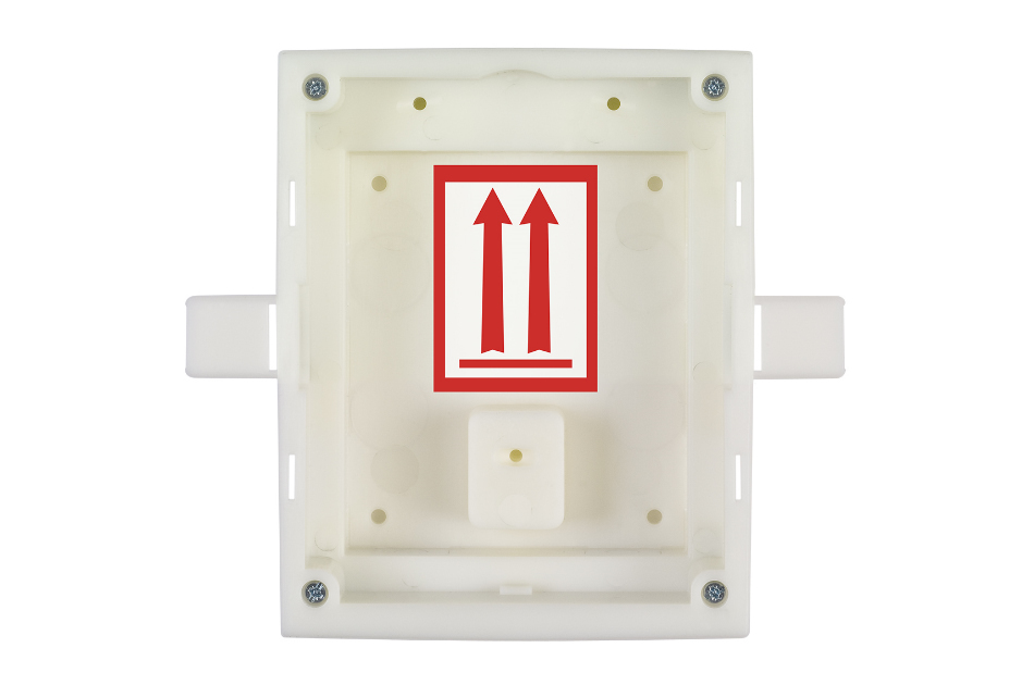 2N - 2N IP Verso Flush Mount Box 1M   Digital Key World