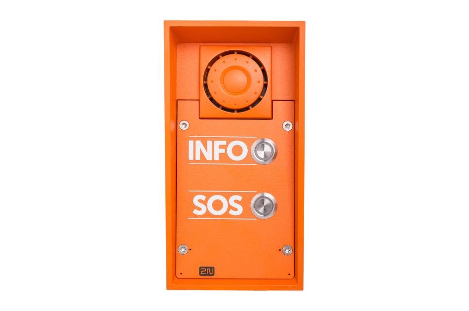 2N - 2N IP Safety 2Button INFO/SOS | Digital Key World