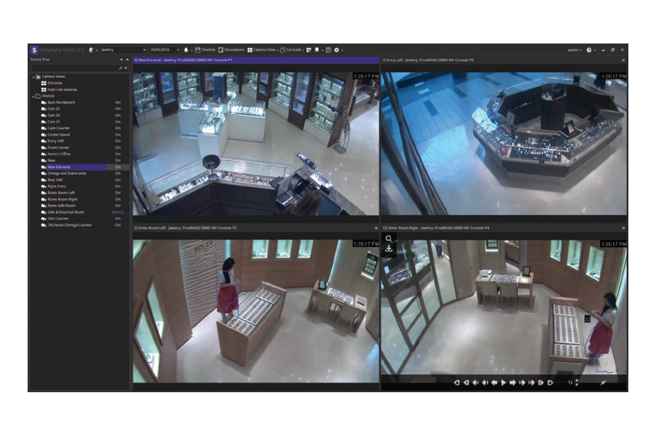 Senstar - AIM-SYM7-E   Digital Key World