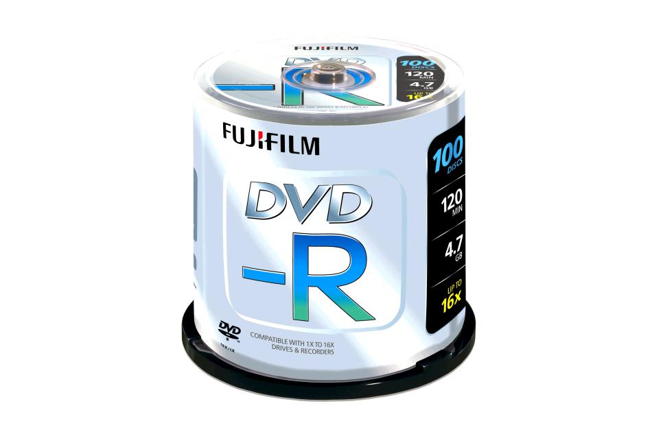 Fuji - DVD-R 4,7GB-100 | Digital Key World