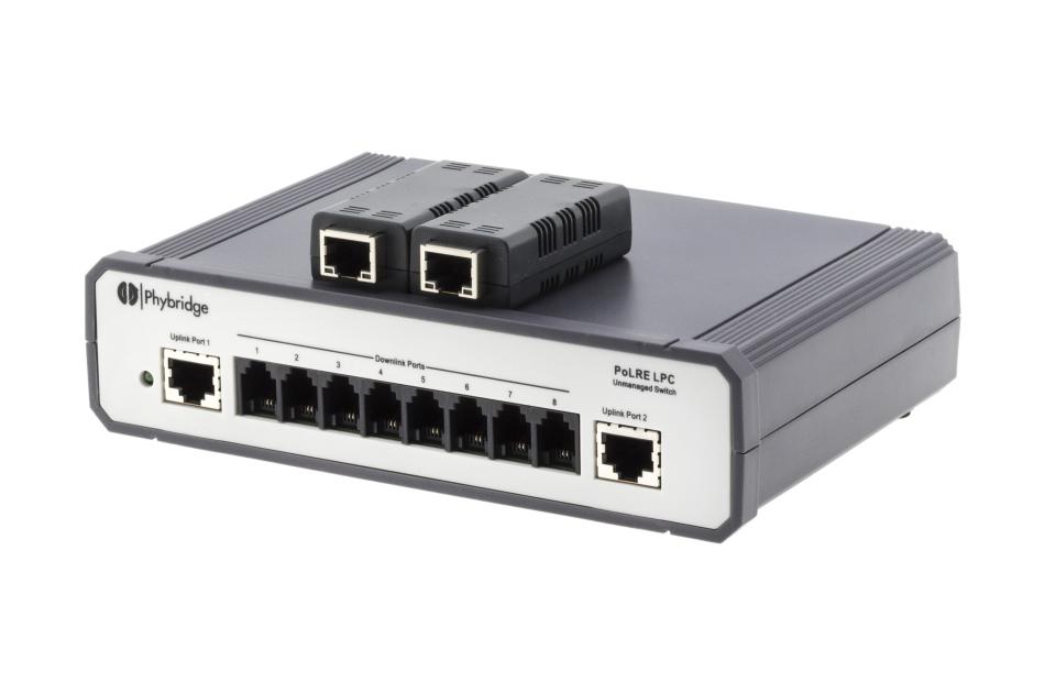 2N - NVT Phybridge PL-08 Switch | Digital Key World