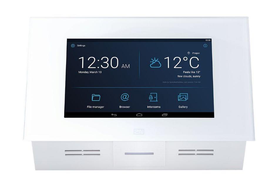 2N - 2N Indoor Touch 2.0 White | Digital Key World
