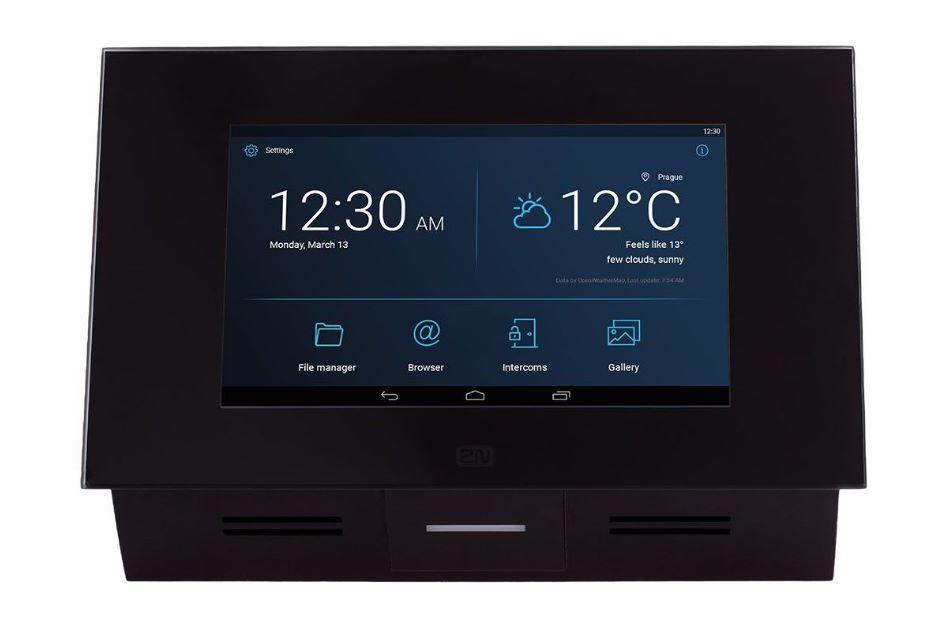 2N - 2N Indoor Touch 2.0 Black | Digital Key World