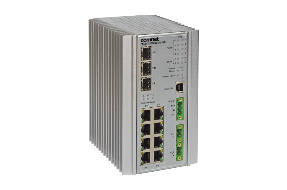 ComNet - CNGE11FX3TX8MSPOEH | Digital Key World