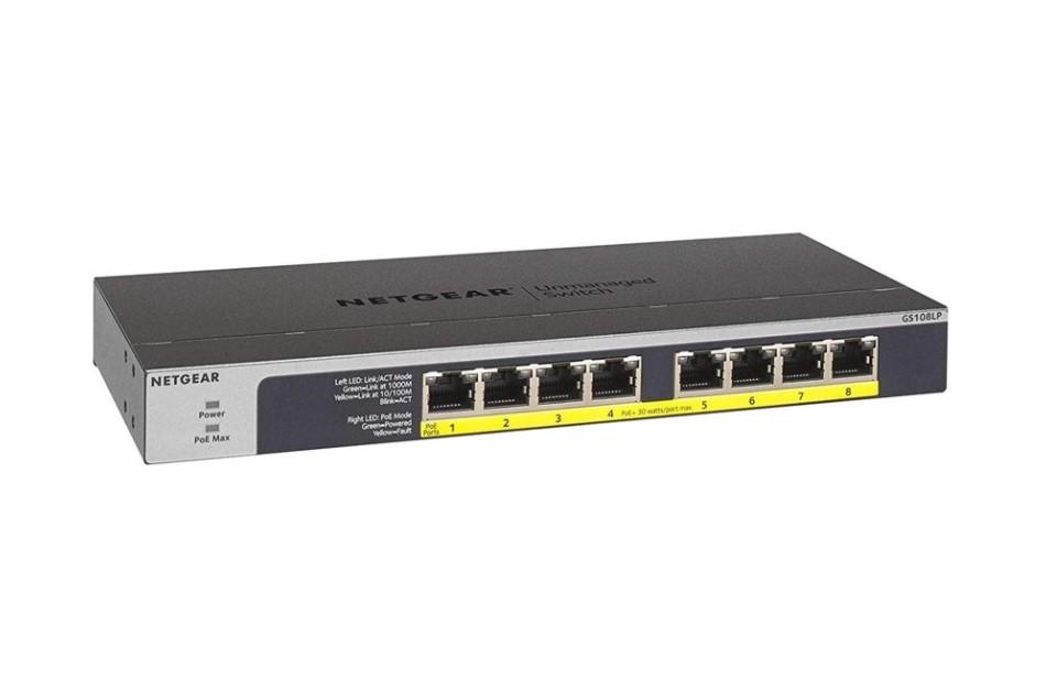 Netgear - GS108LP-100EUS | Digital Key World