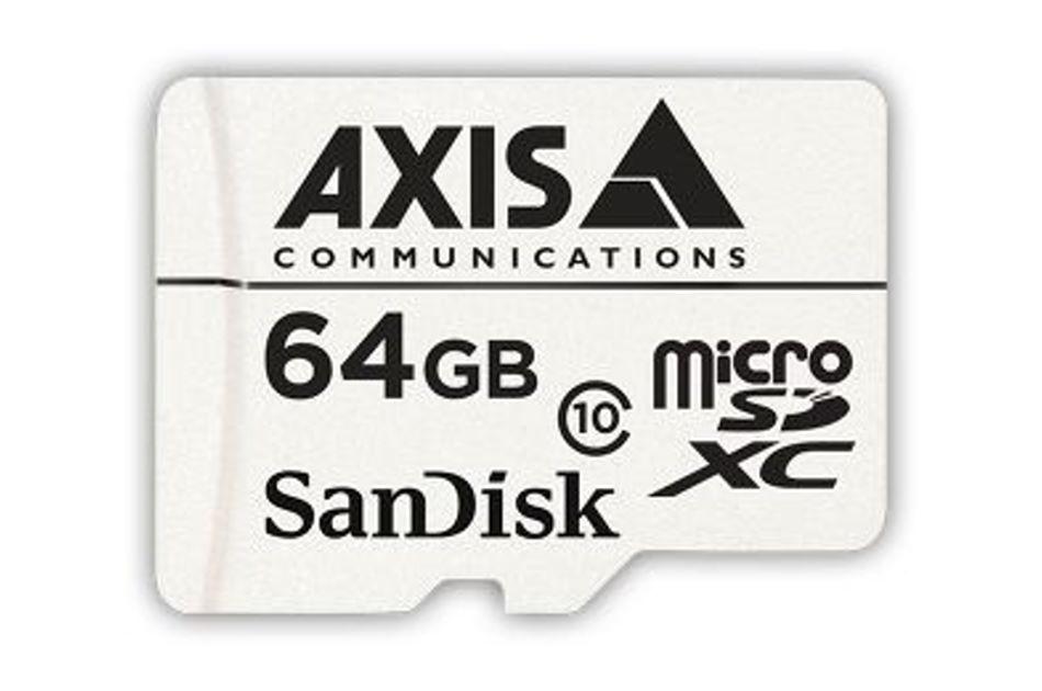 Axis - AXIS SURVEILLANCE CARD 64G 10P   Digital Key World