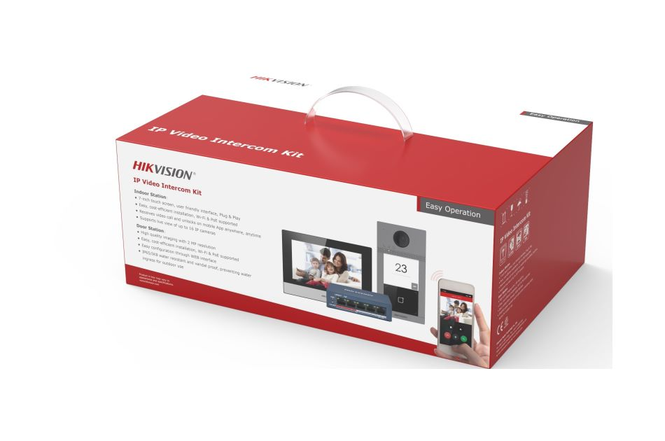 Hikvision - DS-KIS604-S(O-STD) | Digital Key World