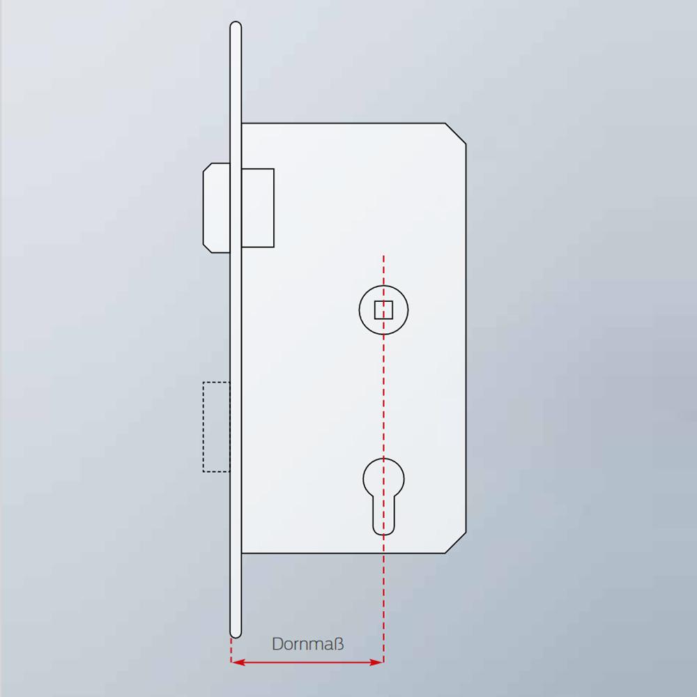 SimonsVoss - Intelligente Stulpschraube für DoorMonitoring-Zylinder - 1 Stück - Z4.DM.60.SCREW