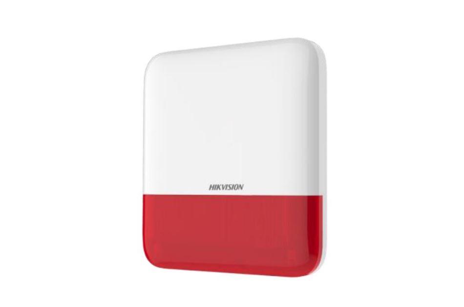 Hikvision - DS-PS1-E-WE(O-STD)/Red | Digital Key World