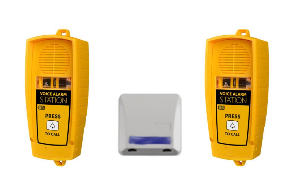 2N - 2N Lift1 Voice Alarm Set   Digital Key World
