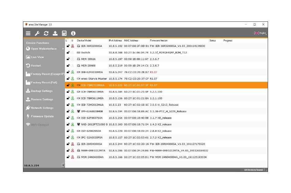 eneo - eneo Site Manager | Digital Key World