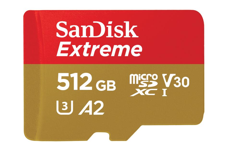 SanDisk - MicroSDXC Extreme 512GB   Digital Key World