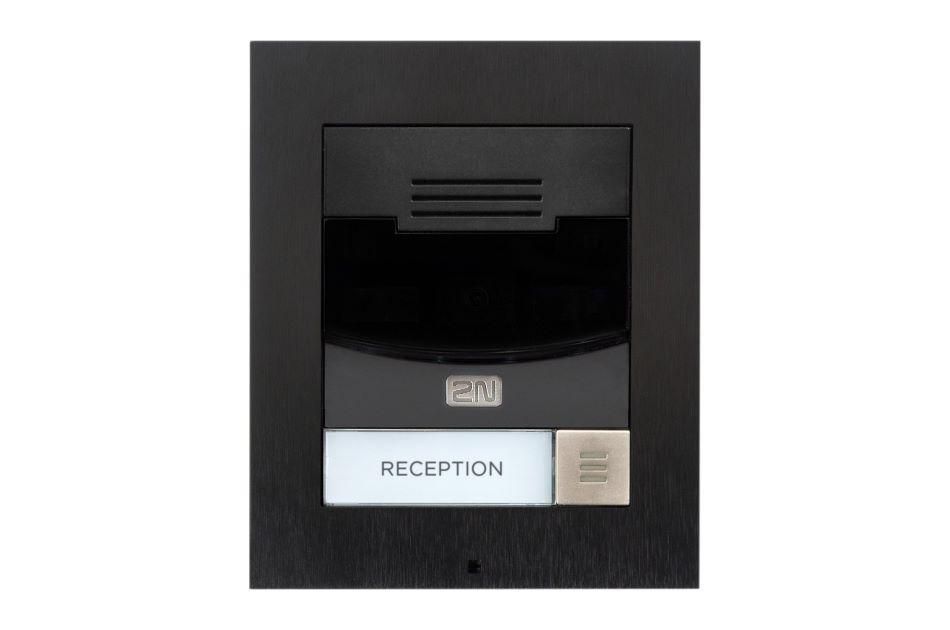 2N - 2N IP Solo Surface NoCam Black | Digital Key World