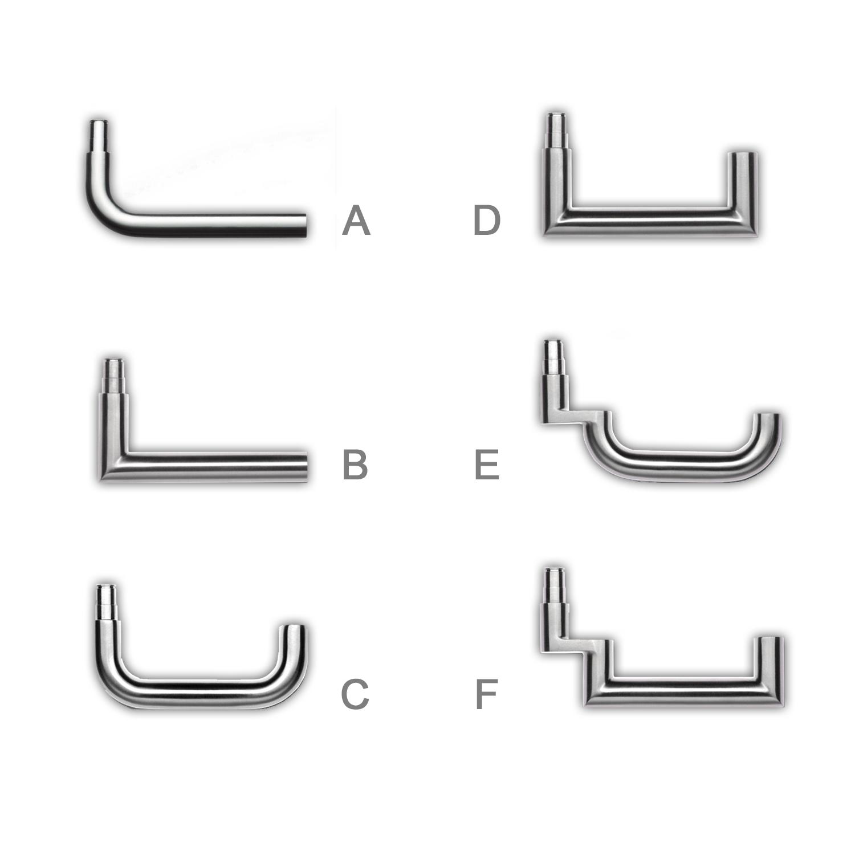 SimonsVoss - Drücker zur Nach- und Umrüstung für SmartHandle 3062