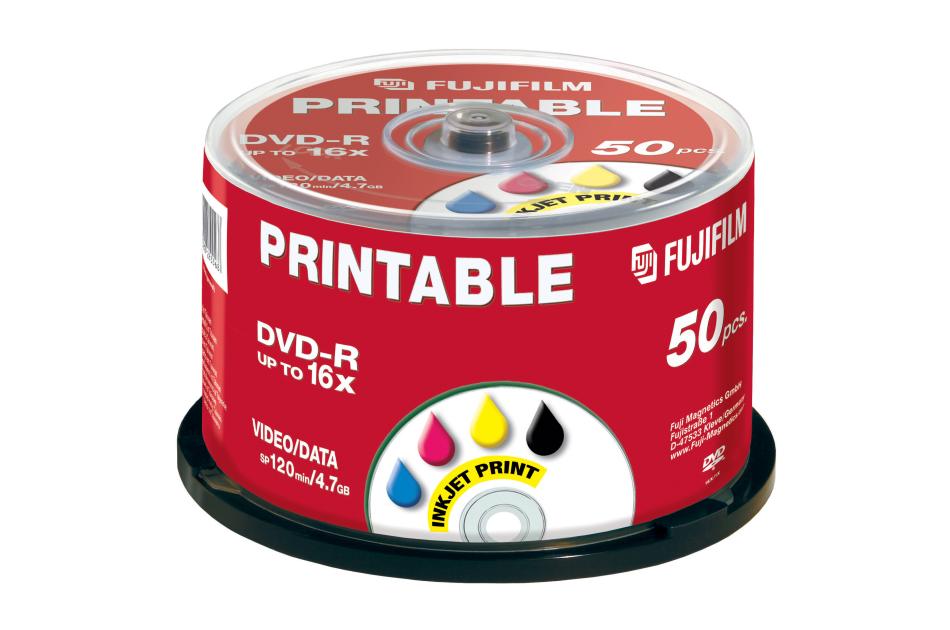 Fuji - DVD-R INKJET-50 | Digital Key World