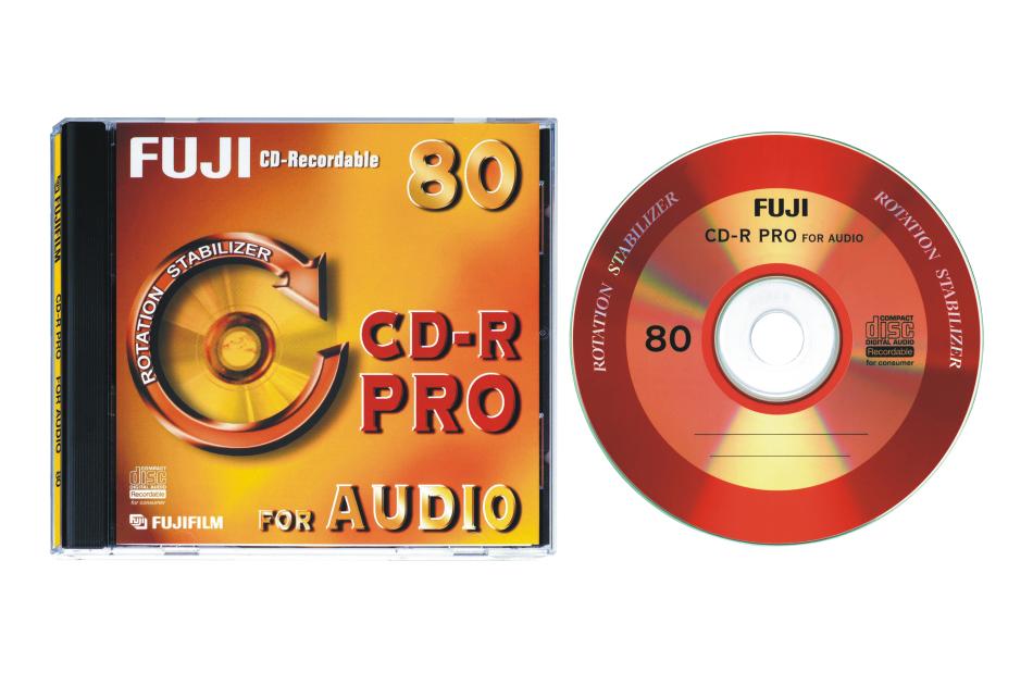 Fuji - CD-R AUDIO PRO | Digital Key World