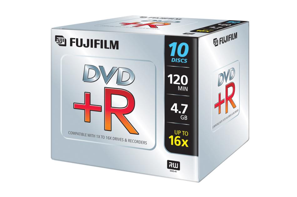 Fuji - DVD+R 4,7GB-10 | Digital Key World