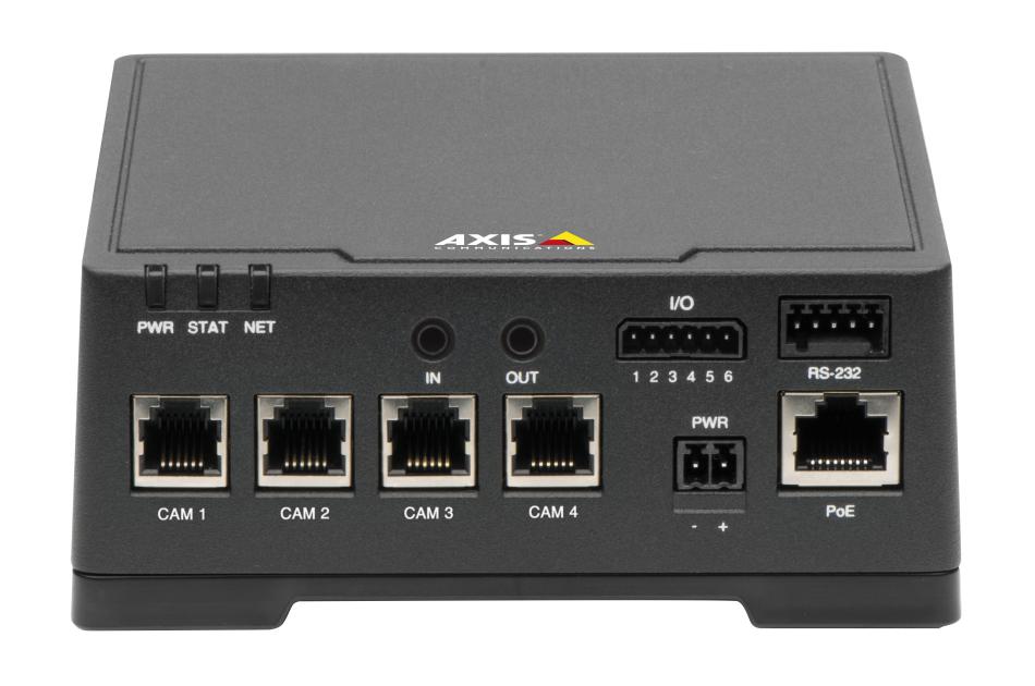 Axis - AXIS F44 DUAL AUDIO INPUT   Digital Key World