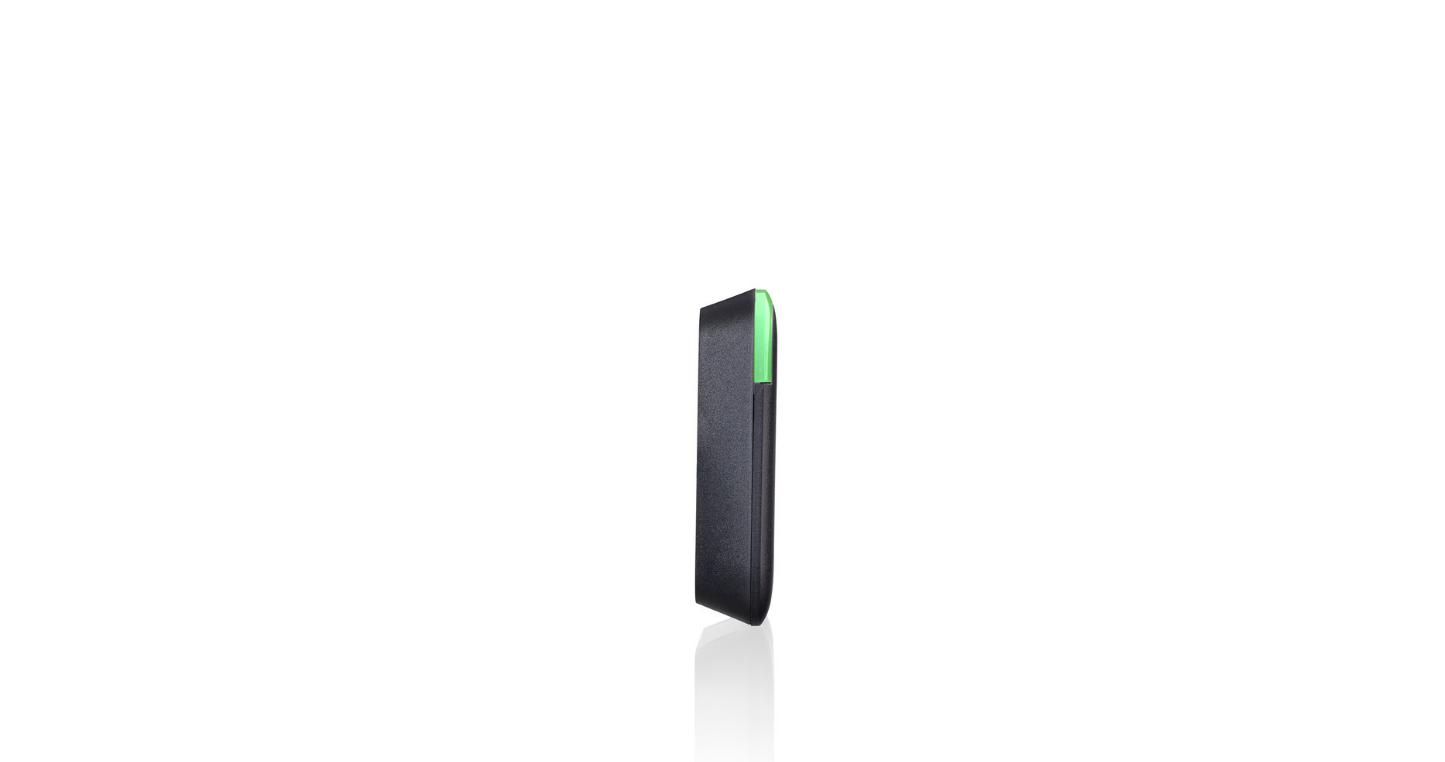 SALTO KS - Wandleser BLE mit Keypad - schwarz - konisches Gehäuse - WRDB0E4BKY