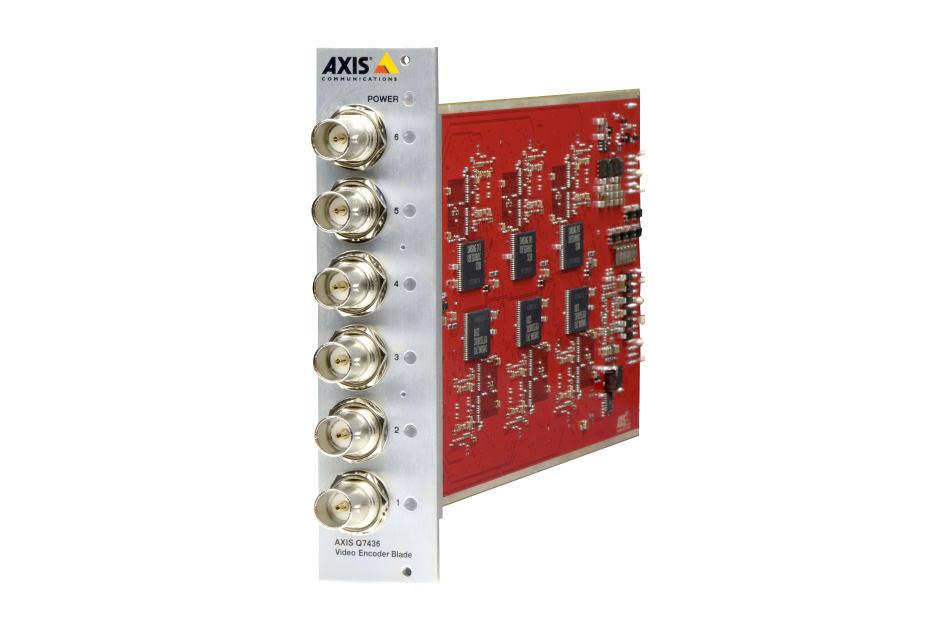 Axis - AXIS Q7436   Digital Key World