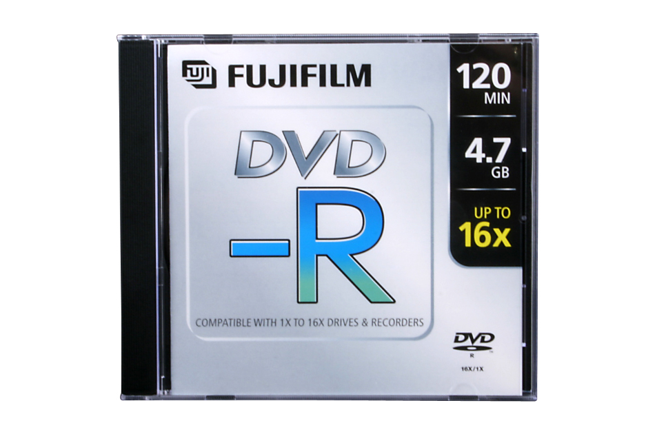 Fuji - DVD-R 4,7GB-10 | Digital Key World